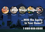 home equity mortgage marketing design