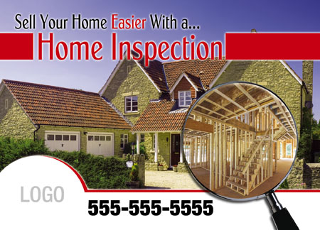Brilliant Home Inspection Direct Mail Postcard Marketing Examples