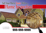 home inspection marketing postcard sample