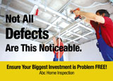 home inspection marketing promotional mailer