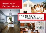 home remodeling postcard