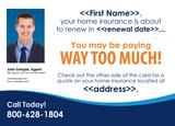 insurance agent mailer idea