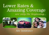 insurance direct mail postcard
