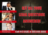 lawyer marketing promotional mailer