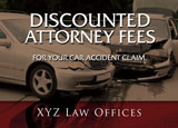 legal services free sample post card