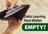debt relief postcard marketing ideas
