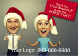 direct mail holiday marketing idea