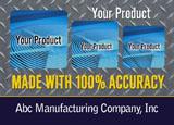 manufacturing marketing sample