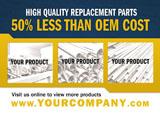 manufacturing marketing postcard