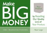 manufacturing postcard idea