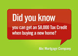 marketing ad for federal tax credits