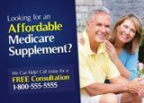 medicare supplement postcard sample