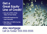 mortgage refi marketing ad