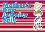 mothers day jewelry direct mail postcard