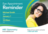 optometrist mailer design
