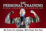 personal training advertising example