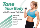 personal training mailer