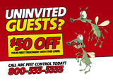 pest control promotional mailer