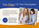 pharmacist marketing postcard sample