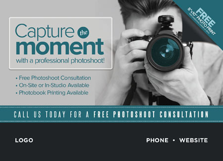 5 Brilliant Photographer Marketing Direct Mail Postcard Examples