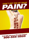 physical therapy back pain marketing sample
