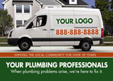 plumber septic tank marketing promotional mailer