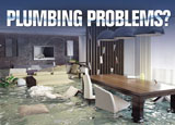 plumbing advertising post card example