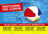 pool cleaning marketing example