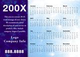 postcard example calendar
