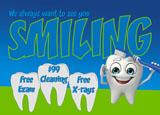 postcard to send to dental mailing lists