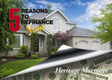 refinancing marketing postcard