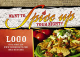 restaurant promotional mailer