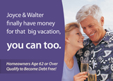 reverse mortgage direct mail postcard series 2