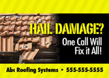 roof fixing promotional mailer