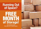 self-storage marketing postcard sample