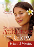 tanning salon spray tan postcard advertising example