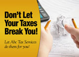 tax preparation flyers