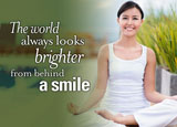 Teeth Whitening Dental Postcard