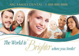 Dental Promotion Postcard Samples