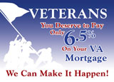 va loan mortgage marketing idea