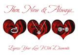 valentines day advertising design