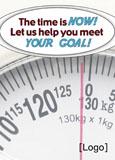 weight training marketing postcard