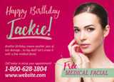 Facial Birthday Marketing