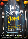 Restaurant Birthday Marketing