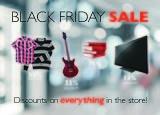 Black Friday Sale Postcard