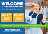 Cleaning Personalized Postcard