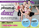 Dance Studio Advertising Ideas
