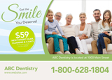 Dental Postcard Design