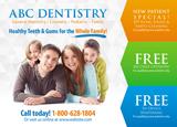 Dentist Postcard Mailer