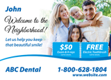 Personalized Dental Card
